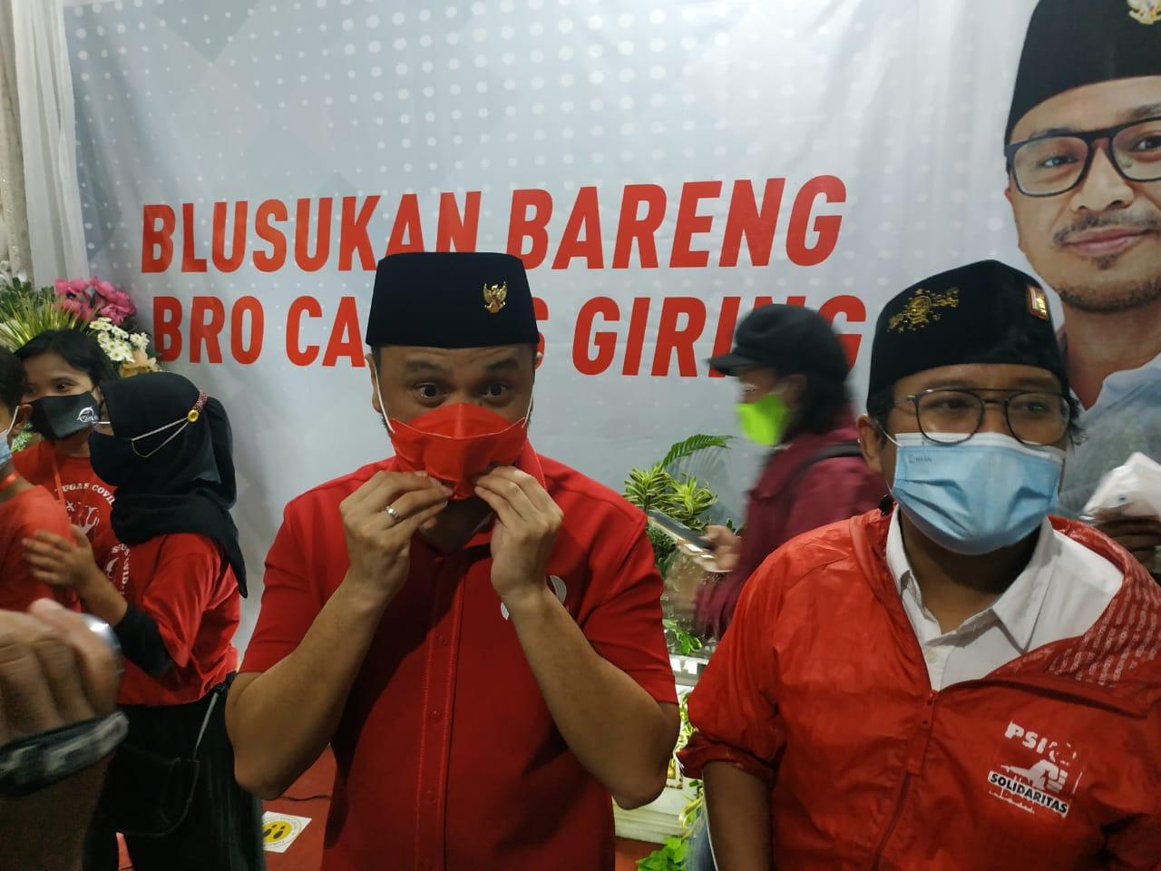 Plt Ketum PSI Giring Ganesa ke Surabaya-Sidoarjo, Ini yang Dikerjakan