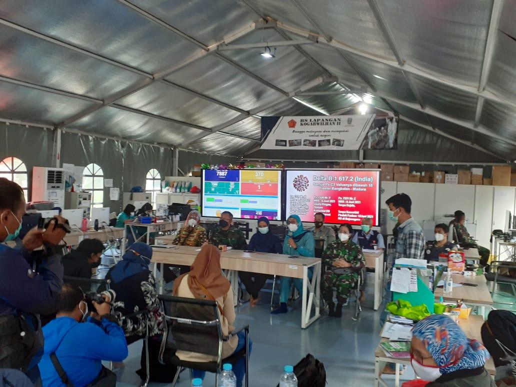 RSLI Surabaya Temukan Varian Baru Covid India di Penyekatan Suramadu