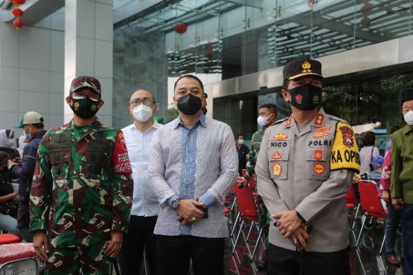 Hari Pertama Kerja, Ini yang Dilakukan Wali Kota Surabaya Eri Cahyadi