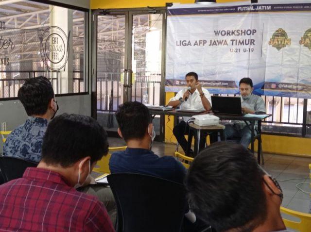 AFP Jatim Gulirkan Liga Futsal U-19 dan U-21 di Tengah Lonjakan COVID-19