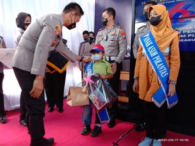75 Anggota Satlantas Polres Tulungagung Jadi Orangtua Asuh Yatim Covid-19