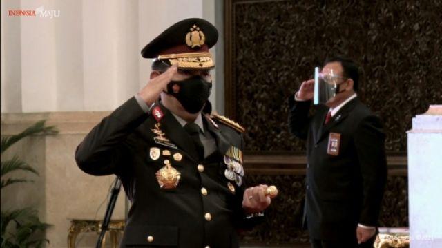 Dilantik Presiden, Jenderal Listyo Sigit Prabowo Resmi Kapolri