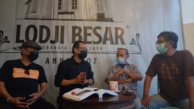 Polemik HUT  Kota Surabaya, Wakil Ketua DPRD Temui Ahli Sejarah