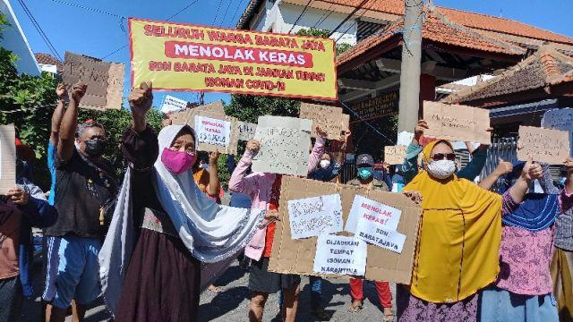 Heboh! Warga Barata Jaya Surabaya Tolak Sekolah jadi Tempat Isolasi Pasien Covid-19