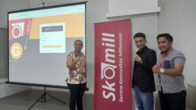 Solusi Permodalan, Aplikasi GriyaSkomill Bentuk Kolaborasi Kejar Ekonomi Digital UMKM di Jatim