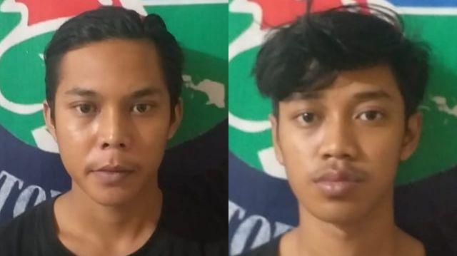 Sembunyikan Sabu di Sandal, Dua Pemuda Ini tak Berkutik saat Ketahuan