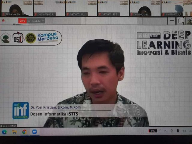 Untag Gandeng iSTTS Wujudkan MBKM via Deep Learning Inovasi dan Bisnis