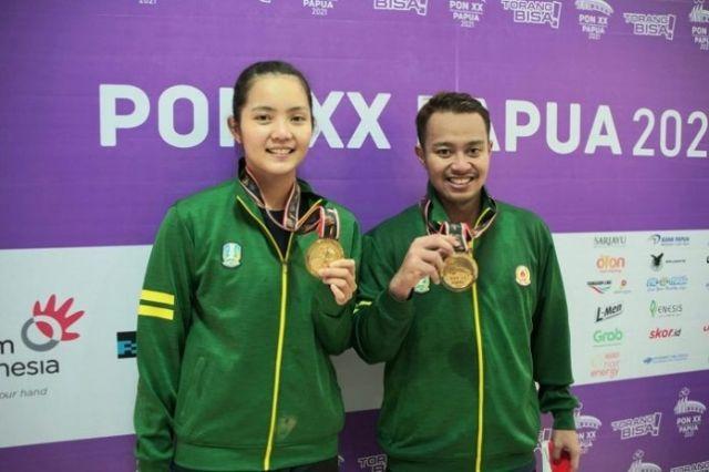 Tim Jateng Putuskan WO, Jatim Sabet Medali Emas Bulutangkis Ganda Campuran