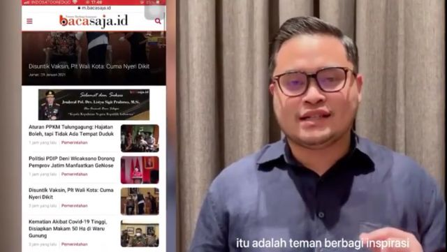 Video : Pesan Bupati Kediri Hanindhito Untuk Warga Kediri