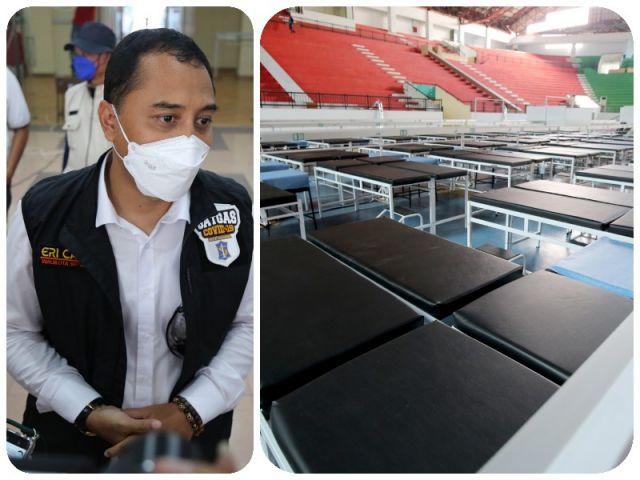 RS Darurat GOR Indoor GBT Besok Dibuka, Wali Kota Eri Cahyadi: Pasiennya dari Surabaya Barat