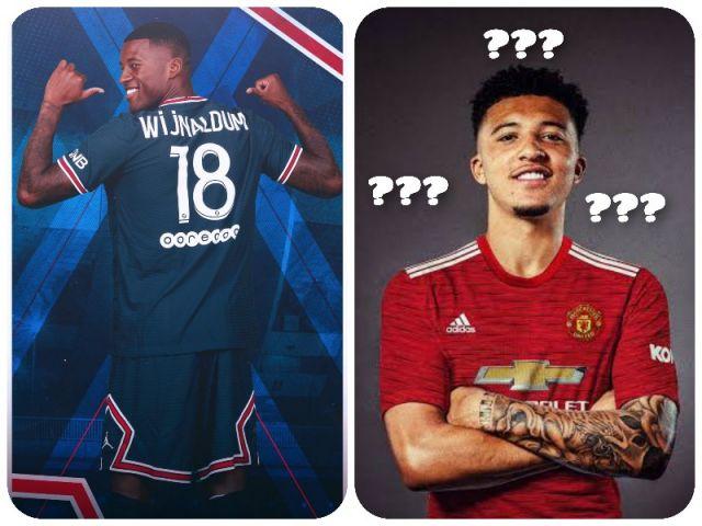 Georginio Wijnaldum Resmi Kenakan Jersey PSG No 18, Jadon Sancho masih jadi Misteri No 7 atau 16 Manchester United?