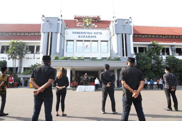 Pemkot Surabaya Tangani Covid-19 dengan Cara Gotong-royong, Begini Catatan Pakar Komunikasi dan Ketua DPRD Surabaya