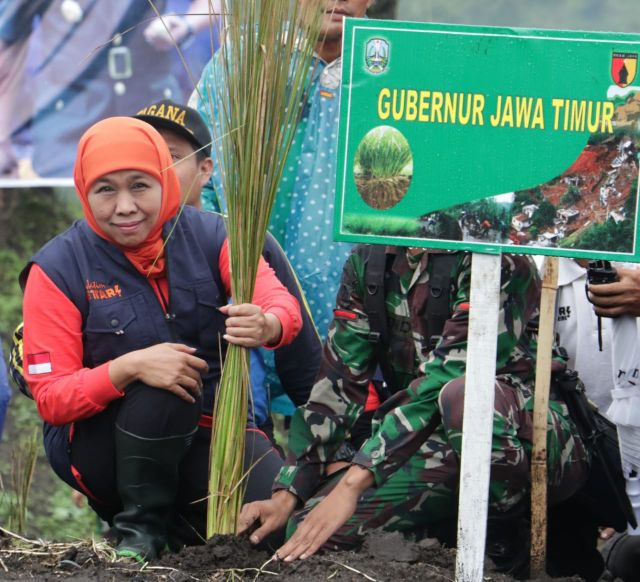 Hari Bumi, Ini yang dilakukan Gubernur Khofifah untuk Jaga Alam Jatim
