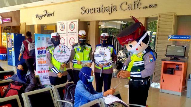 Mudik Dilarang, Ini yang Dilakukan Satlantas Polrestabes Surabaya