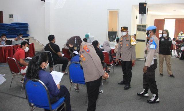 Kabar Gembira! Anak Usia 12 hingga Remaja 17 Tahun kini Bisa Ikut Vaksinasi COVID-19 di Mapolrestabes Surabaya