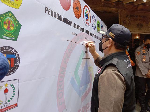 Desa Tangguh Bencana Minim, BPBD Tulungagung Bentuk FPRB