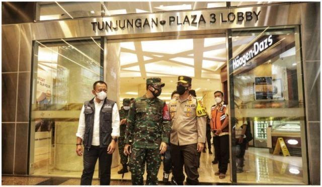Viral Kerumanan di Mall, Pangdam dan Kapolda Datangi Tunjungan Plaza