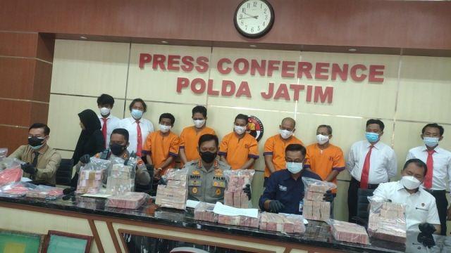 Uang Palsu Rp3,7 Miliar Gagal Beredar di Jatim, Pemodalnya Warga Jombang