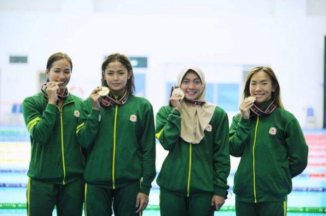 Tim Renang Jatim Kuasai Perolehan Medali Emas PON XX Papua