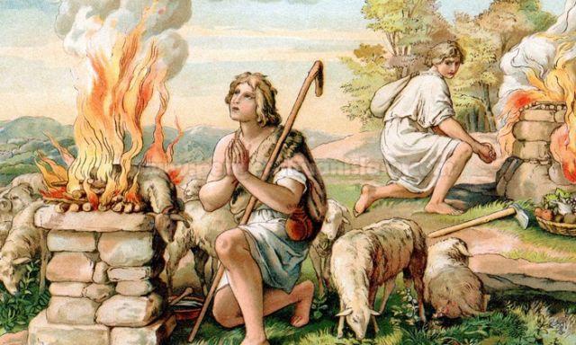 Sejarah, Asal Usul, dan Hikmah Idul Adha, Kisah Saudara Kembar dan Penyembelihan Anak Manusia