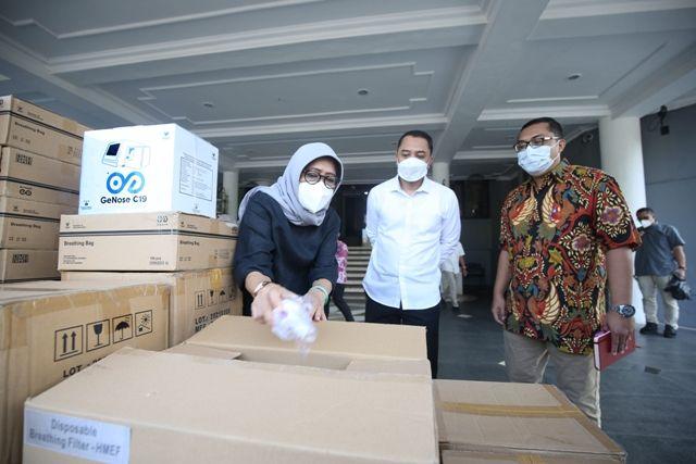 Dapat Bantuan Alat GeNose C19, Pemkot Surabaya Sasar Fasilitas Publik