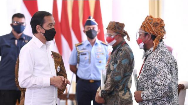 Tegaskan Komitmen Pemerintah Berantas Mafia Tanah, Presiden Jokowi: Jangan sampai Ada Aparat jadi Beking