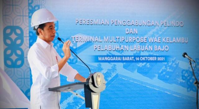 Presiden Jokowi: Penggabungan BUMN Pelindo Tingkatkan Daya Saing