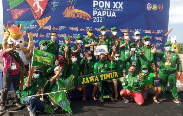 Jatim Sabet Gelar Juara Umum Aeromodelling PON XX Papua