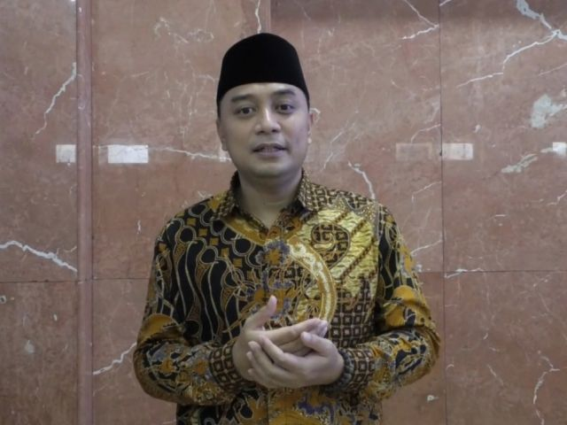 Wali Kota Surabaya Eri Cahyadi Imbau Warganya agar Tidak Mudik