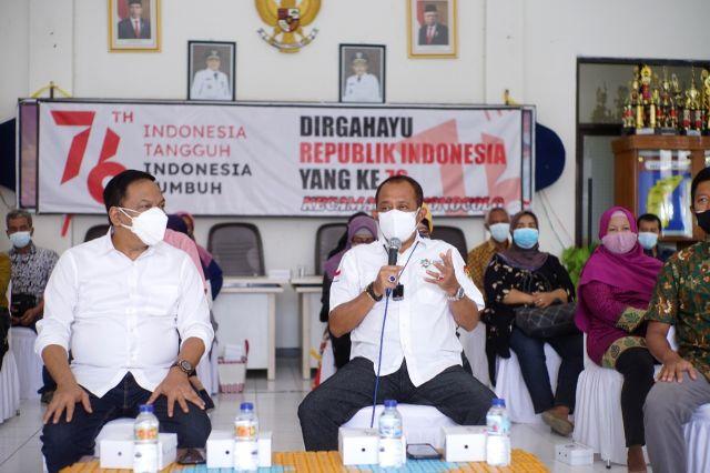 Motivasi UMKM se-Kecamatan Wonocolo, Wawali Armuji Dorong agar Beralih Promosi ke Platform Digital