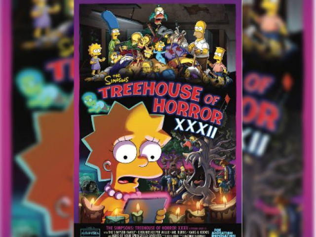 Sambut Halloween, The Simpson Treehouse of Horror Parodikan Parasite, The Ring, dan Freddy Krueger Sekaligus