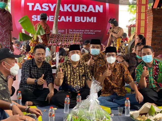 Selamatan Sedekah Bumi, Ketua DPRD Surabaya: Kita Nguri-Uri Budaya dan Adat Istiadat