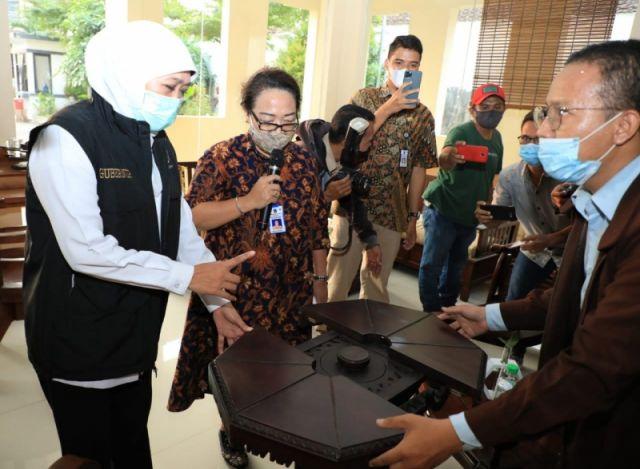 Dorong Pelaku Usaha Masuki Ekosistem Digital, Gubernur Khofifah: UMKM Jatim Harus Naik Kelas