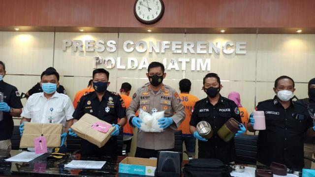 Penyelundupan Sabu 6 Kilo ke Madura, Ibu Rumah Tangga Ditangkap