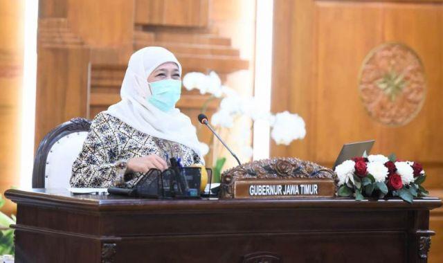 Dampak Positif PPKM, Gubernur Khofifah Ungkap Tingkat Keterisian Bed di RS Jatim Menurun