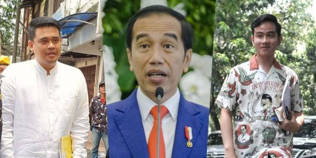 Versi Quick Count, Anak dan Menantu Jokowi Menangi Pilkada 2020