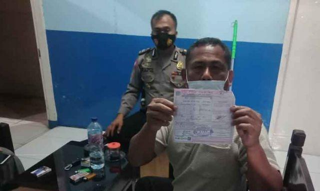 Sopir Mobil Innova Viral di Medsos Yang Halangi Ambulance Ditilang