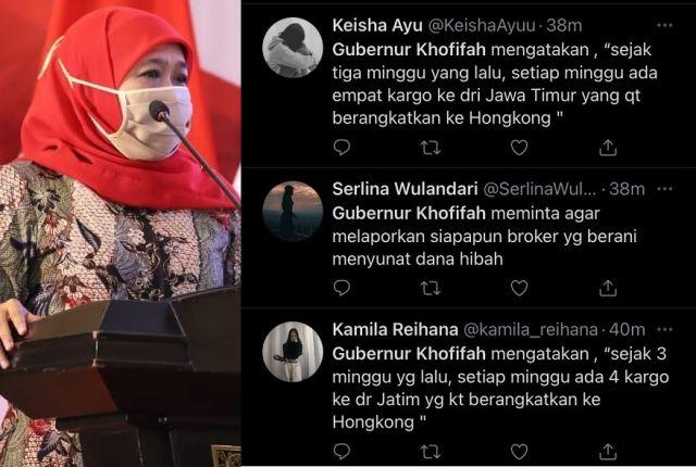 Trending di Twitter, Heru: Ada yang Ingin Jatuhkan Gubernur Khofifah