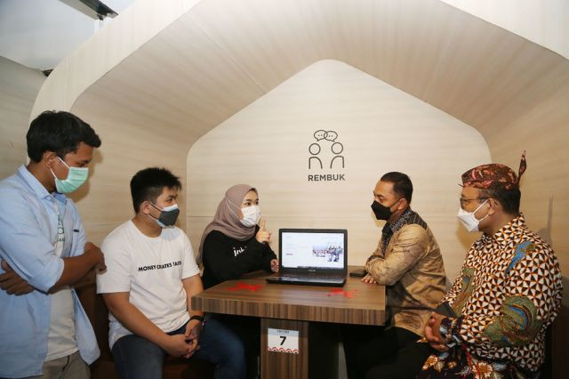 Wujudkan 1000 Startup Digital di Surabaya, Wali Kota Eri Teken Nota Kesepakatan Sinergi dengan Kemenkominfo