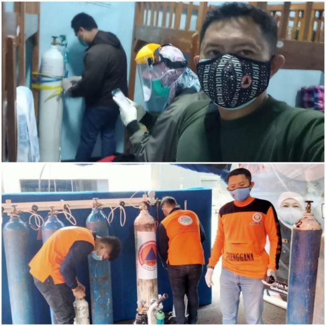 Pahlawan! Rela tanpa APD, Tim Trenggana Satpol PP Jatim Selamatkan Nyawa Pasien Covid-19 yang Kritis di Asrama Haji Surabaya