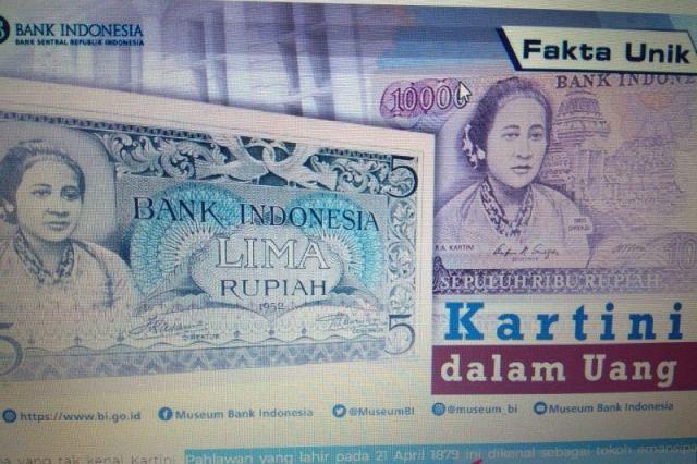 21 April, BI Ungkap Momen Sejarah RA Kartini Jadi Gambar Uang Kertas