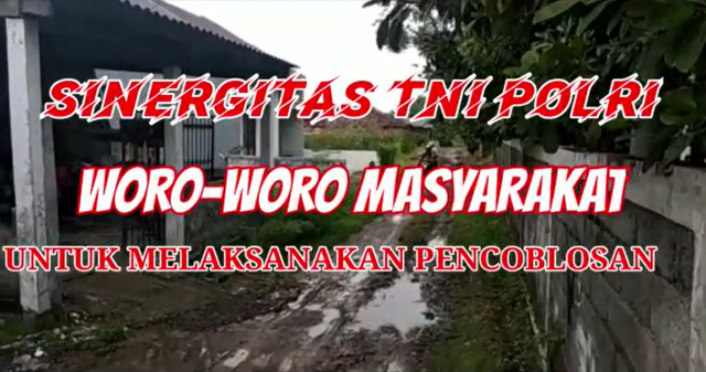 Video : Sinergitas TNI POLRI Ajak Warga ke TPS